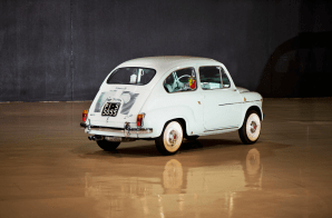 1963 FIAT 750 ABARTH BERLINA 3