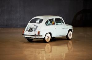 1963 FIAT 750 ABARTH BERLINA 3
