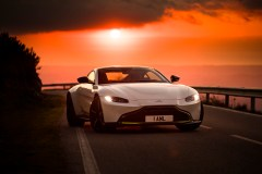 Aston Martin Vantage. Portugal. February / March 2018 Photo: Drew Gibson