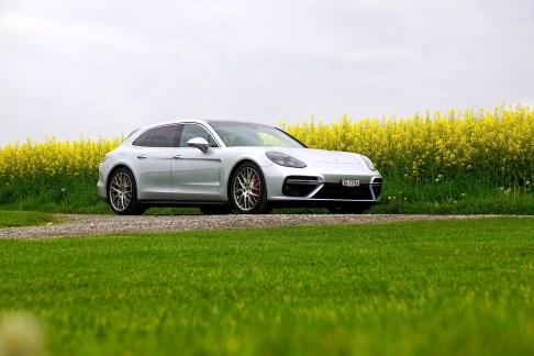 @Porsche Panamera Sport Turismo Test - 12