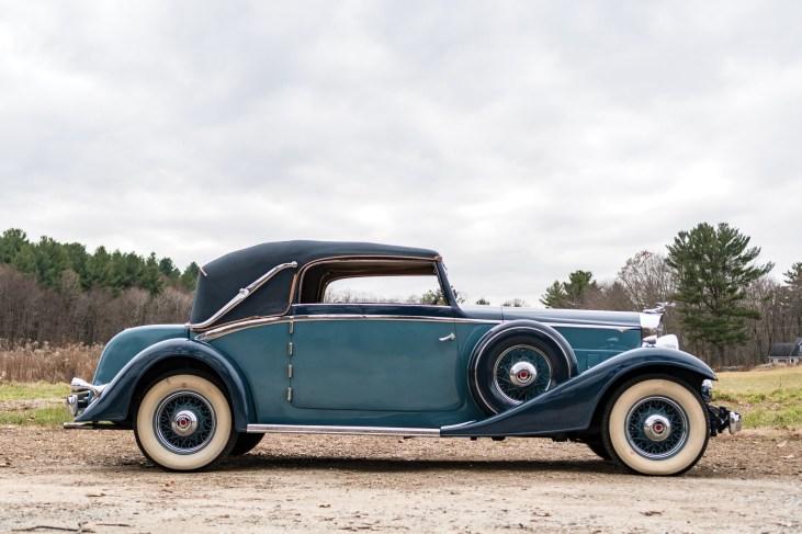 @1933 Packard Eight Cabriolet-2018 - 23