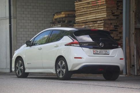 @Test Nissan Leaf - 7