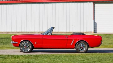@1965 FORD MUSTANG CONVERTIBLE-200 - 2