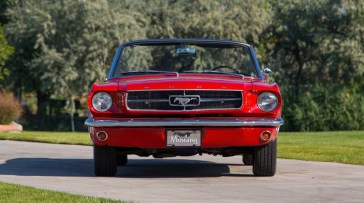 @1965 FORD MUSTANG CONVERTIBLE-200 - 9