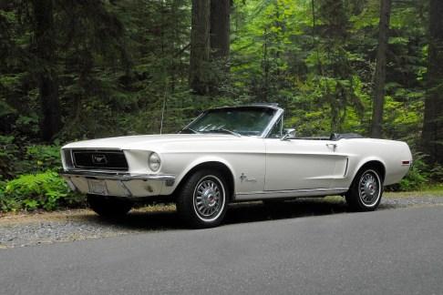 @68 Mustang 200 Cabrio - 1