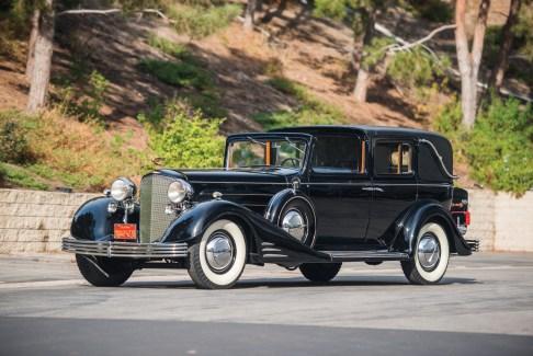 @1933 Cadillac V-16 Seven-Passenger Town Cabriolet - 1