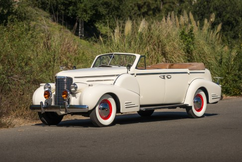 @1938 Cadillac V-16 Convertible Sedan Fleetwood-5270060 - 8