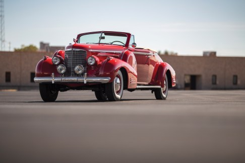 @1939 Cadillac V-16 Convertible Coupe Fleetwood-5290069 - 10
