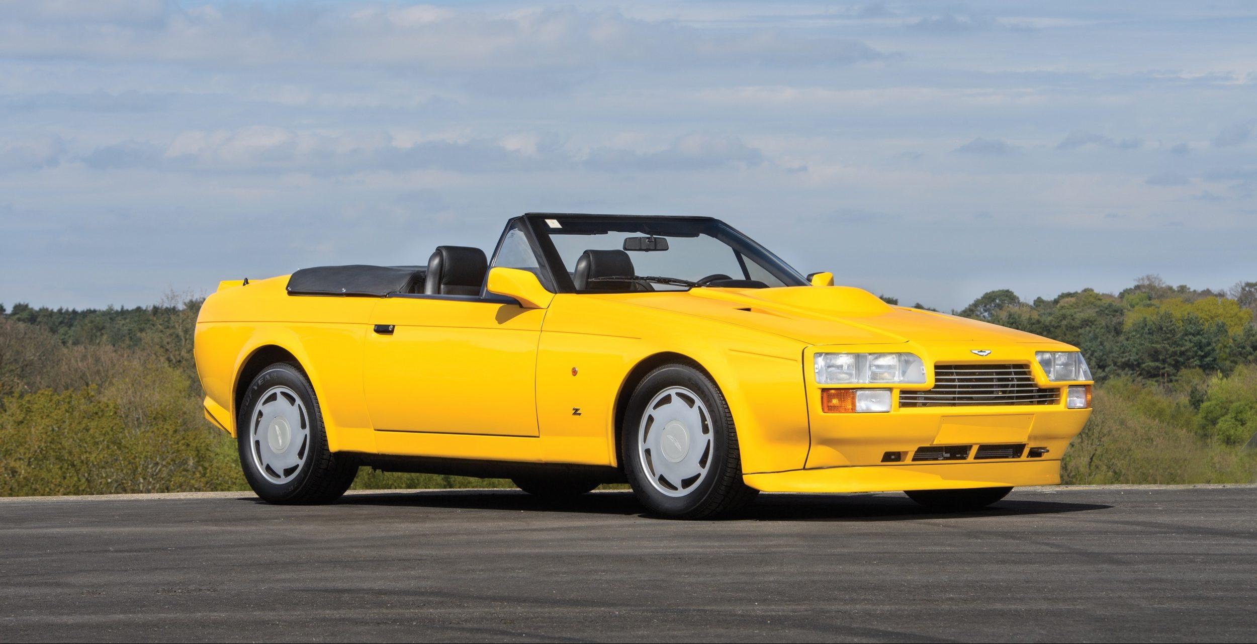 Aston Martin V8 Volante Zagato Radicalmag