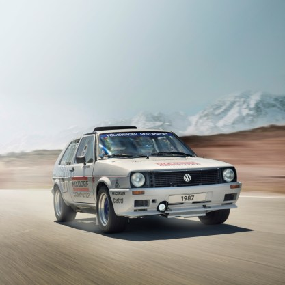 Volkswagen Golf Mk2 Pikes Peak (1987)