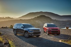 All-new 2021 Jeep Grand Cherokee L Summit Reserve (left) and All-new 2021 Jeep Grand Cherokee L Overland (right)