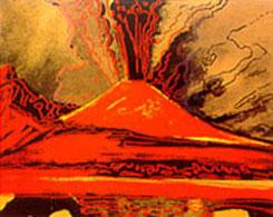 Vesuvio di Andy Warhol
