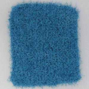 Blue restangle shaped scrubbie