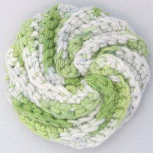 Green Round_Scrubbie