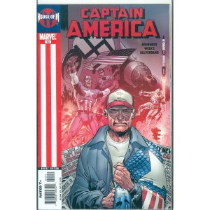 Captain America House of M 10