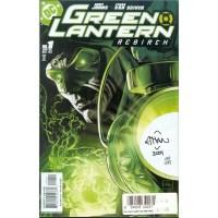 Green Lantern Rebirth 1 Signed