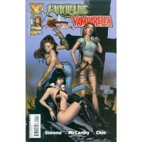 Witchblade Vampirella Magdalena Tomb Raider #1