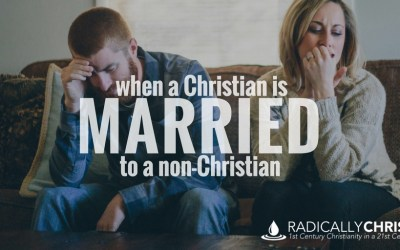 When a Christian is Married to a Non-Christian