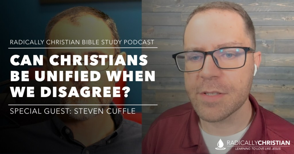 Christian Unity - Bible Study Podcast Graphic