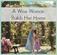 wise woman builds her home