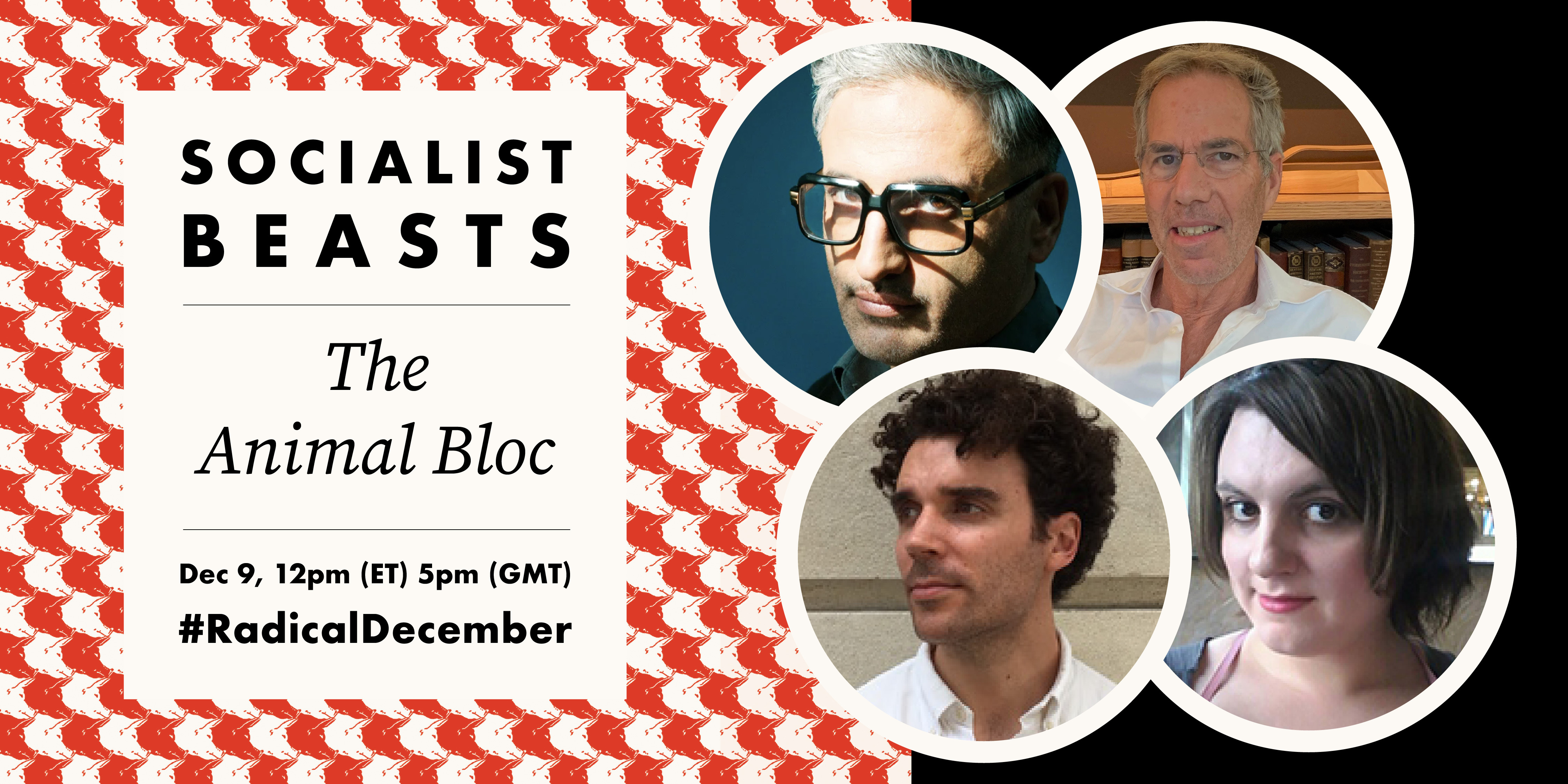 Socialist Beasts image of panelists faces