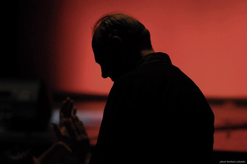Marc Kelly Smith, ideatore dello slam mondiale, durante le finali LIPS 2014 Festival PoesiaPresente (a cura di Mille Gru), foto Barbara Colombo