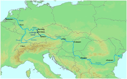 Il Reno e il Danubio, confini dell'Impero romano