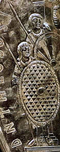 Guerrieri Goti sotto Teodosio.