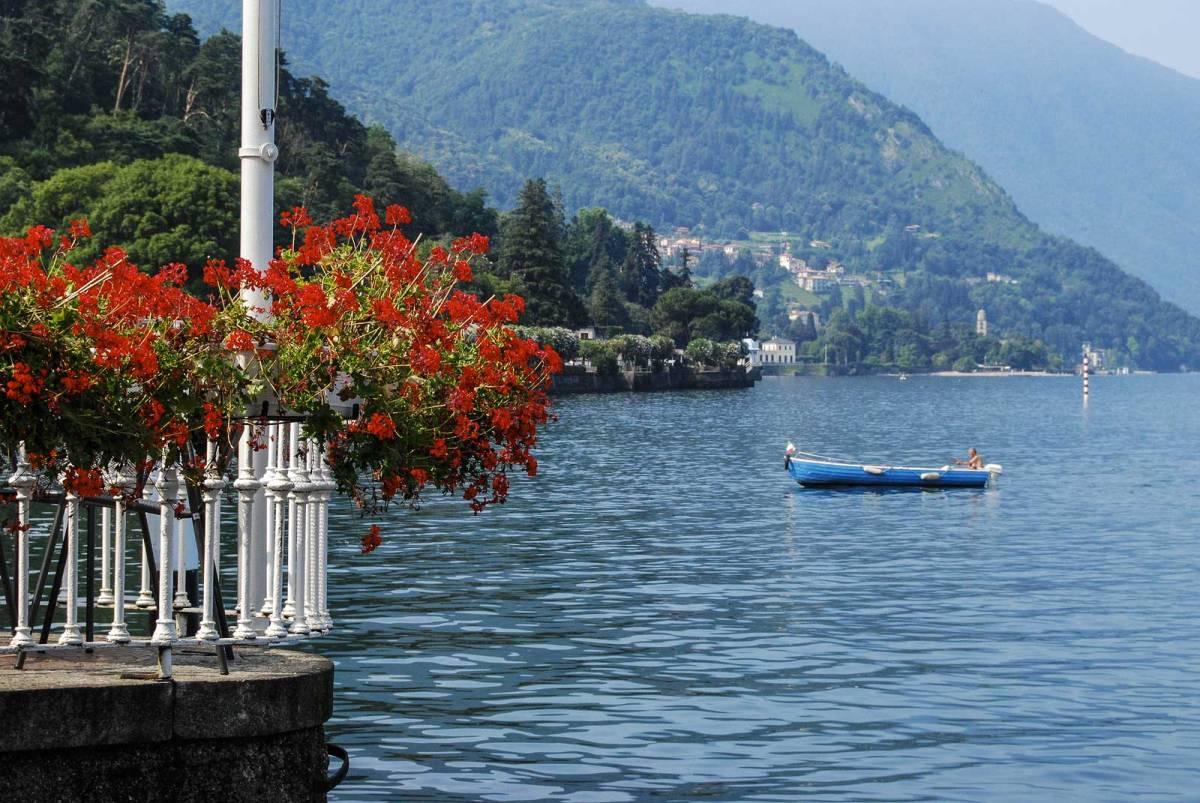 Scorcio del Lago di Como