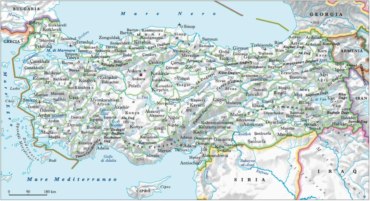 Adrianopoli è l'attuale Edirne e (oggi) fa parte della Turchia, a ridosso del confine con la Bulgaria
