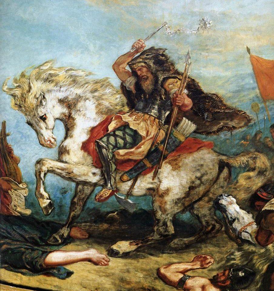 Delacroix, Attila, 1847