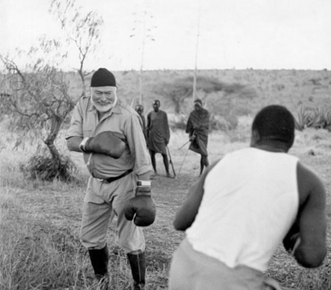 Ernest Hemingway era un grande appassionato di boxe