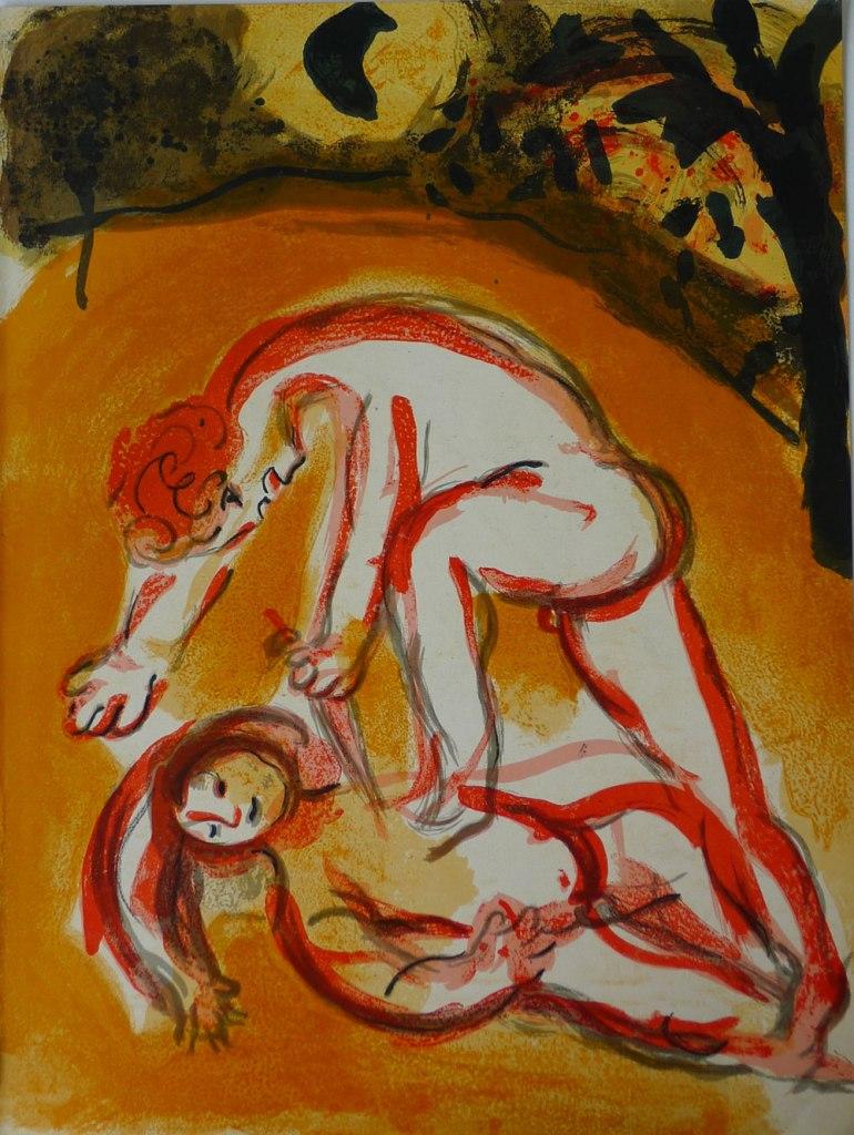 Caino e Abele secondo Marc Chagall