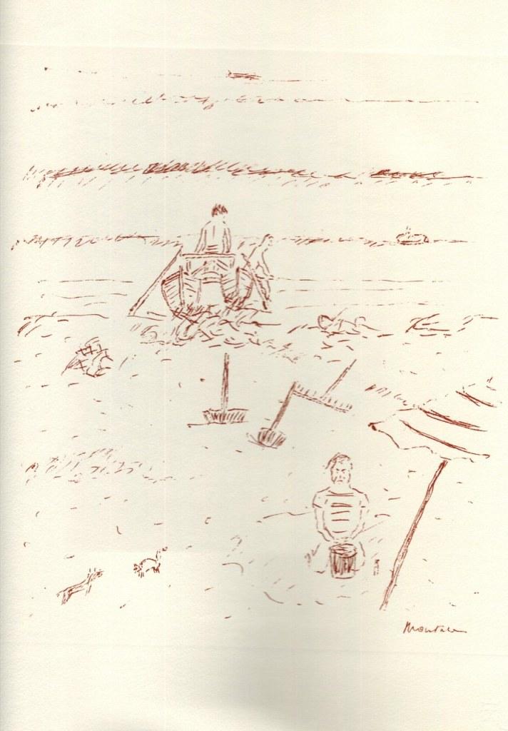 Eugenio Montale, Pastelli & disegni (MONTALE 1966) immagine reperibile a