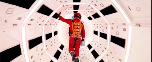 Un fotogramma dell'interno della Discovery One