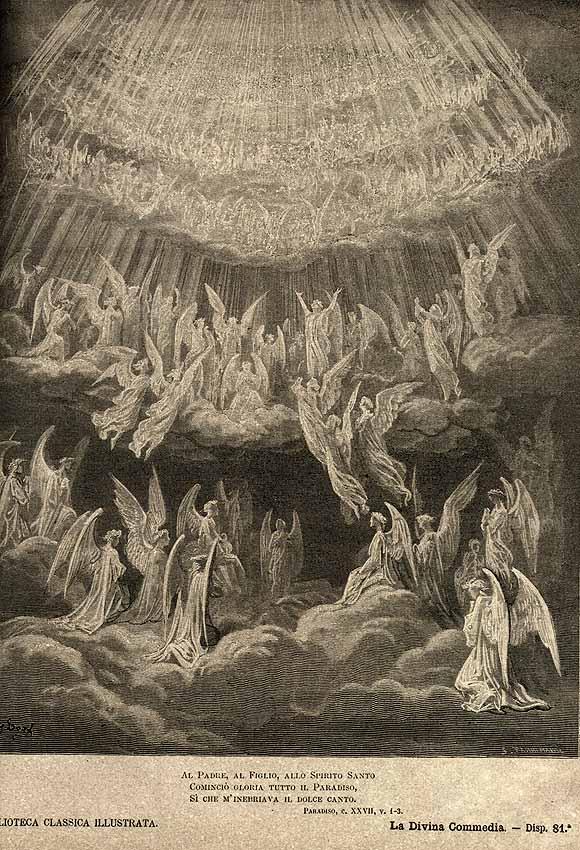 Gustave Doré, illustrazione di Paradiso XXVII