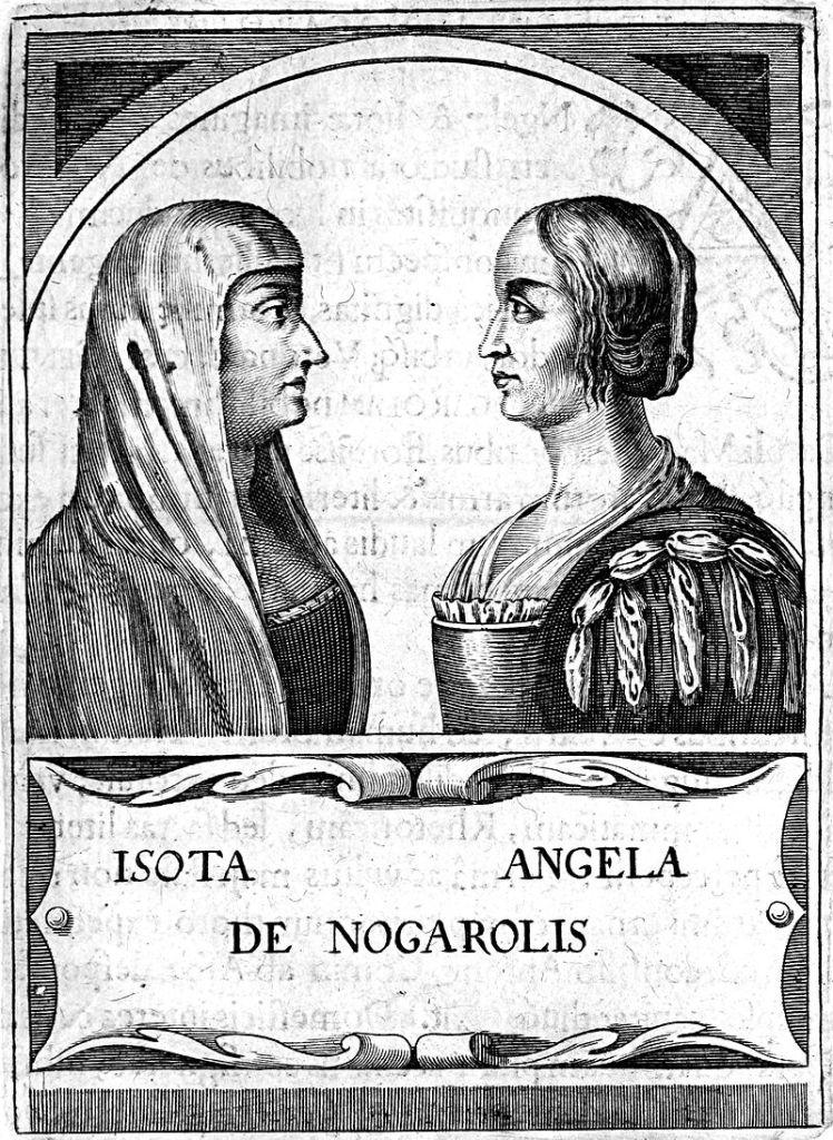 Isotta e Angela Nogarola.