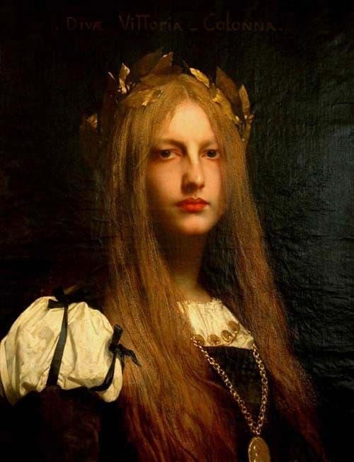 Vittoria Colonna, del pittore Jules Lefèvre