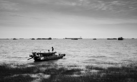 Photo of the day: Afternoon on the Yangtze Delta