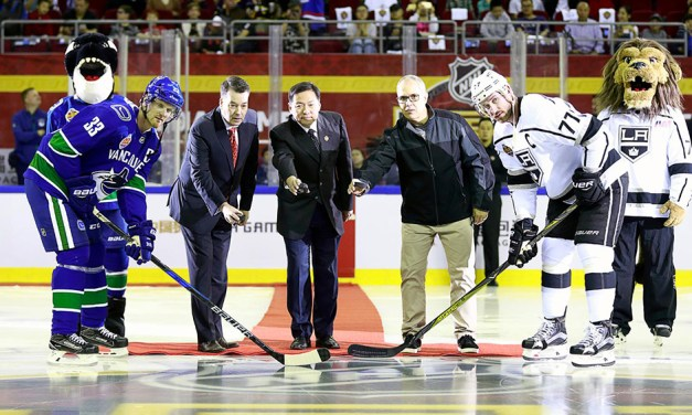 The NHL Launches in China