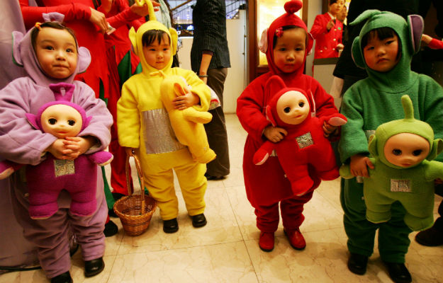 Photo of the day: The Forgotten Teletubby Craze