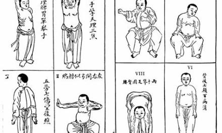 Photo of the day: Chinese Yoga and the Eight Section Brocade