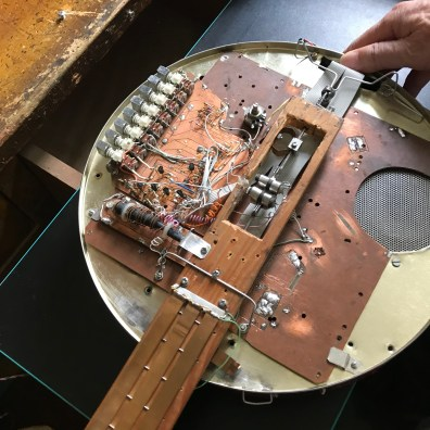 Chinese electronic music pioneer Tian Jinqin's instruments