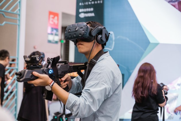 HTC is a Taiwanese company who's one of the leading in VR gaming devices.