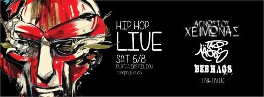 banner RADIKAL LIVE hip hop