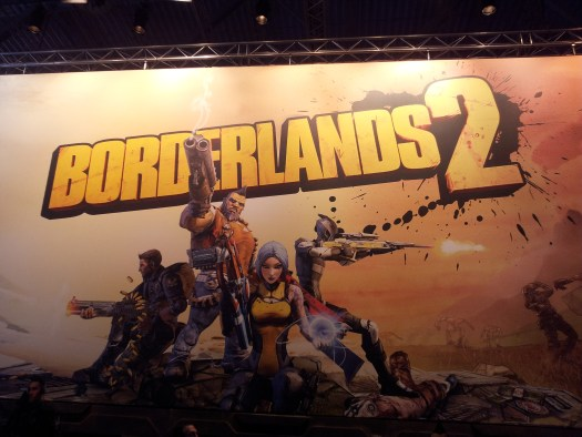 Messestand Borderlands 2