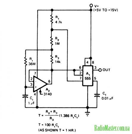 сенсорный переключатель на базе таймера 555 от radio