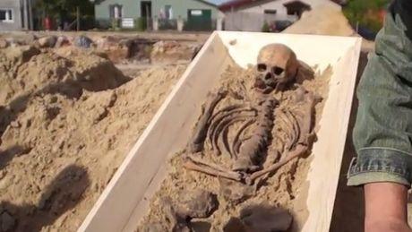 squelette vampire pologne