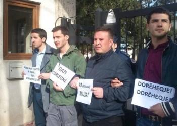 protestuesit arrestimi prizren