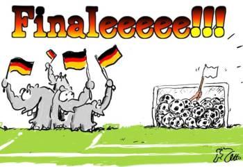 gjermania finale brazil